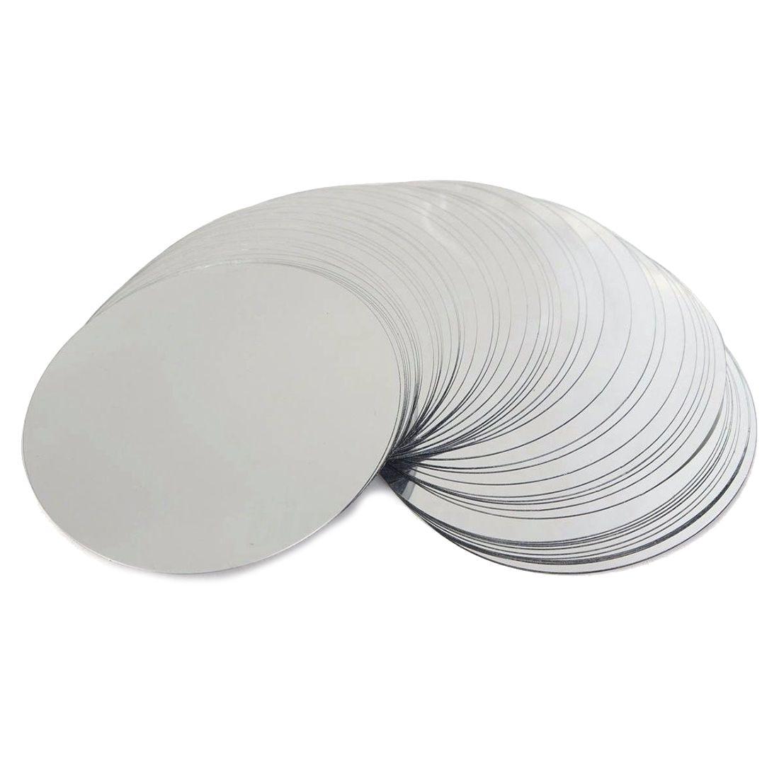PHFU-50Pcs 3 zoll Silber Weinausgießer Disk Drip-beweis Drop Tropf Stop Gießen Gießen Auslauf