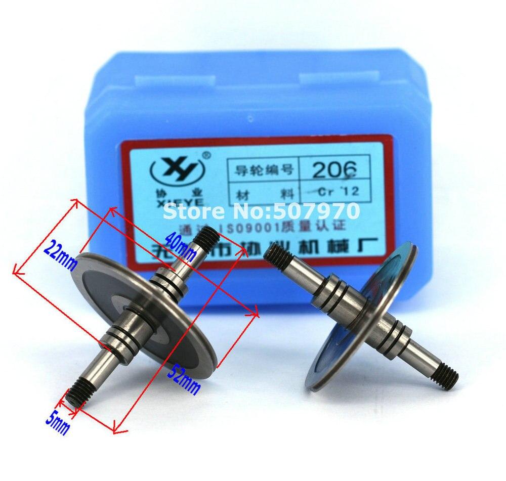 Alta Qualità EDM Guida Puleggia 206 (OD 40mm * L52mm) per CNC Macchina di Taglio a Filo