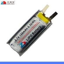 Lithium polymer batteries 421230 150mAh 3.7V 401230 30x12x4 Mini Bluetooth battery equipment Rechargeable Li-ion Cell