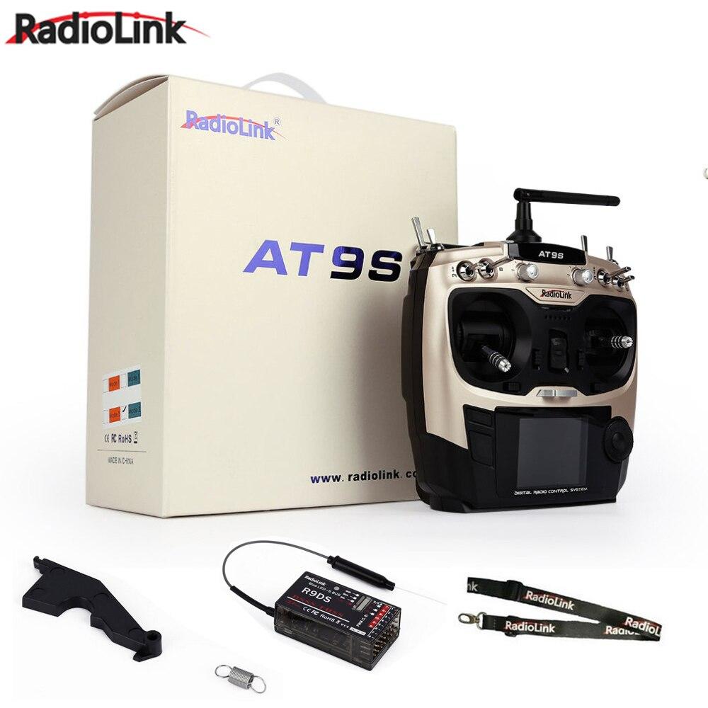 Акция! Оригинальный оригинальный Радиолинк AT9 S AT9S R9DS Радио система дистанционного управления DSSS FHSS 2,4G 10CH передатчик приемник