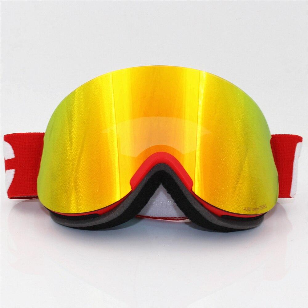 1:1, оригинальные лыжные очки с крышкой, двухслойные противотуманные линзы, большая Лыжная маска, очки для катания на лыжах, для мужчин и женщин, для снега, сноуборда, ясность Retina