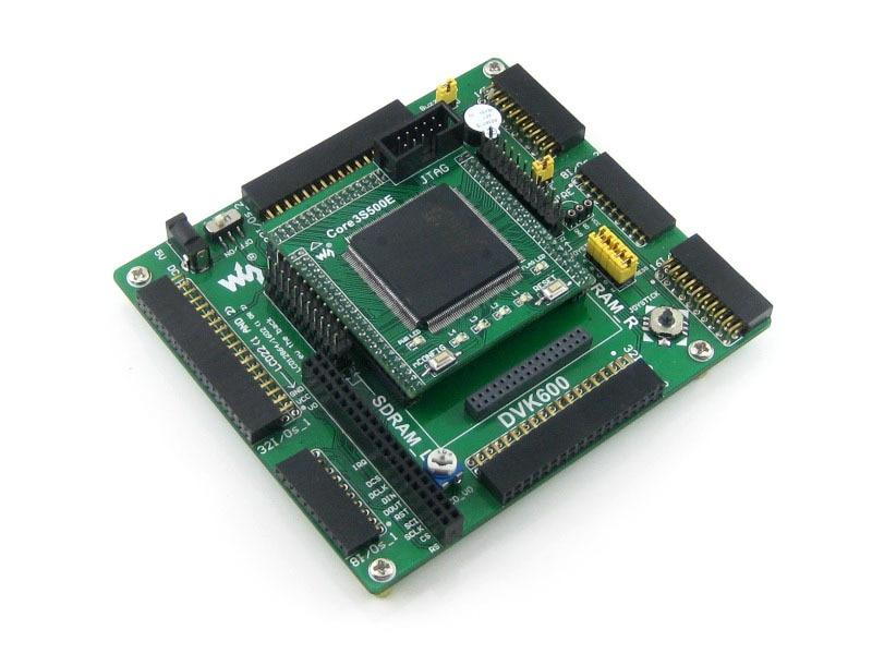 Waveshare XILINX FPGA مجلس XC3S500E Spartan-3E + XC3S500E عدة الأساسية JTAG = Open3S500E القياسية