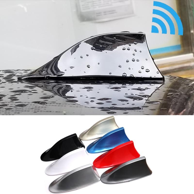 Para HONDA ACCORD CITY crosstour FIT odyssey CR-V CRV CIVIC 2017 2018 antena tipo aleta de tiburón de coche, antenas de señal, accesorios adhesivos
