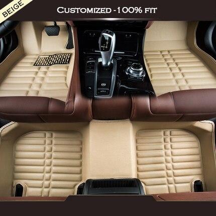 Tapis de sol de voiture personnalisés   Pour land rover tout modèle Rover Range Evoque Sport Freelander Discovery 3 4 Defender LR, accessoires de voiture