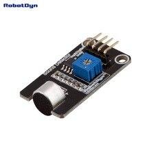 Module de détecteur de son (voix) de Microphone, capteur, avec numérique et analogique notre