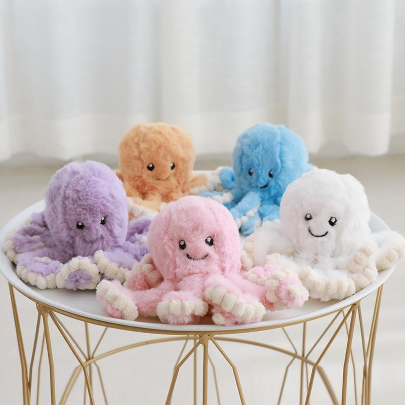 Lindos juguetes de peluche pulpo Kawaii Animal bebé juguetes muñeca acompañan los regalos del sueño para niños cumpleaños suave navidad niños divertidos