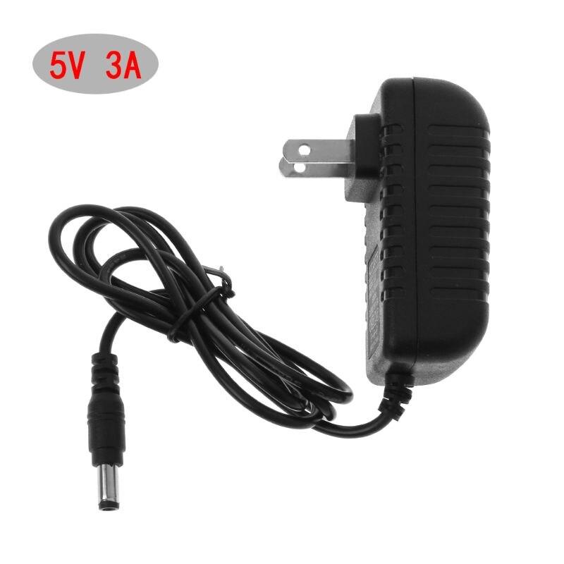 5 в 3A адаптер питания внешний трансформатор 5,5x2,5 мм US EU разъем USB Hub светодиодные полосы CCTV IP камера зарядное устройство