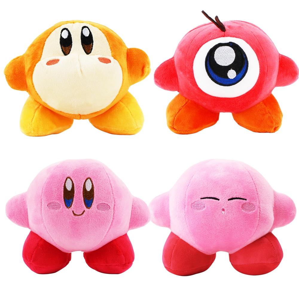 Peluche de Kirby Toys Waddle Dee Waddle Doo, muñeco colgante con Pose de pie, juguetes para bebés