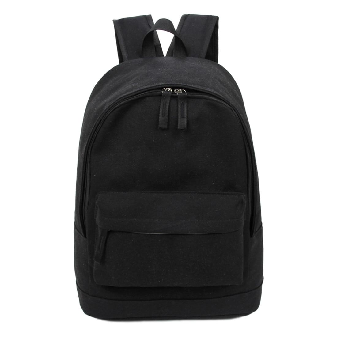 Mochila de moda de estilo coreano para hombre y mujer, mochila suave de estilo Preppy, mochilas escolares Unisex, bolsa de lona de gran capacidad