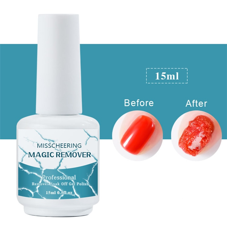 8ml/15ml Nail UV Gel Polish Burst Magic Remove Gel Liquid Surface Layer  Acrylic Clean Degreaser For nails Surface Clean vrenmol 7ml 2 minutes burst burst remove gel layer residue 7ml nail acrylic remover degreaser