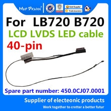MAD DRAGON Brand Laptop new LCD cable For LENOVO LB720 B720 EDP CABLE LCD LVDS LCD CABLE 450.0CJ07.0
