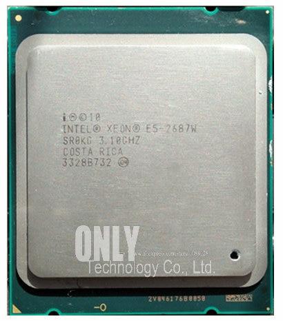 Intel xeon 2687w original e5 E5-2687W w, 2687w 3.10ghz 8-core 20m ddr3 1600mhz processador fclga2011 tpd 150w
