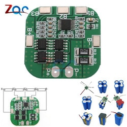 4 S 14,8 V/16,8 V 20A Spitzen Li-Ion BMS PCM Batterie Schutz Bord BMS PCM für Lithium-LicoO2 limn2O4 18650 LI Batterie Modul