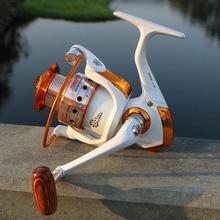 YUMOSHI Brand High quality Fishing reel 13 BB 5.51 Gear Ratio Spinning reel Metal main body foot Super strong reel