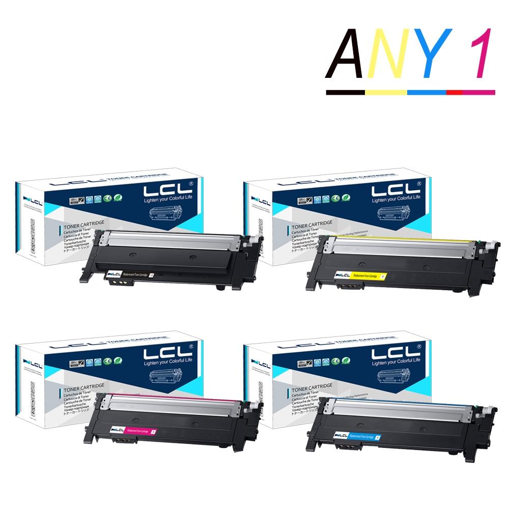 أي 1 LCL CLT-404S CLT-K404S CLT-C404S CLT-M404S CLT-Y404S (1 حزمة) خرطوشة الحبر متوافقة لسامسونج SL-C430 ، SL-C430W