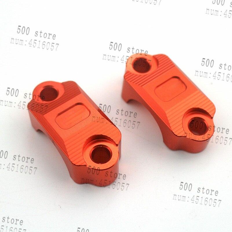 newest Orange Brake Clutch Control Clamp CNC Billet Anodized Fit For KTM SX SXF EXC 85 125 200 250 350 450 530