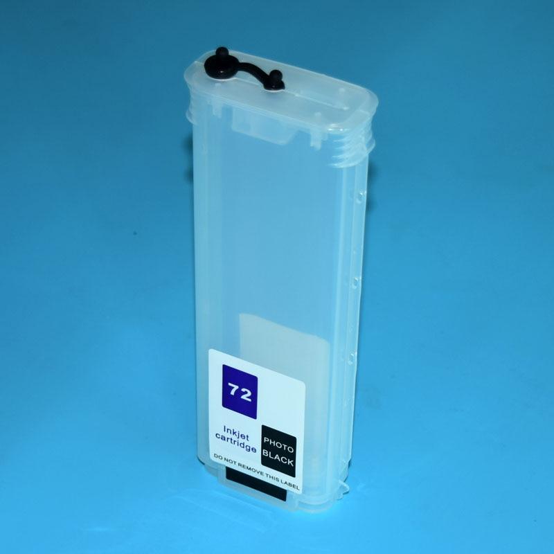 1 pc 280ml vazio cartucho de tinta recarregável para hp 10 11 88 940 70 72 84 85 10 82 para hp t610 t620 10 20 50 110 500 800