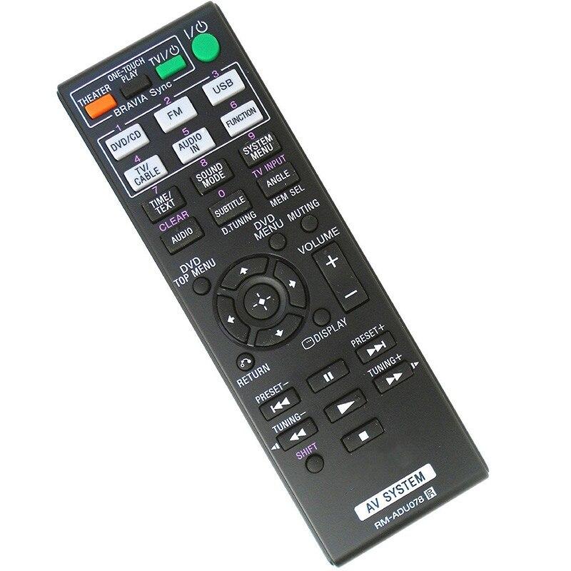 Controle remoto apropriado para SONY RM-ADU079 HBD-DZ330 HBD-DZ740 HBD-TZ210 HCD-TZ DAV-DZ330 DAV-DZ730 DAV-DZ340
