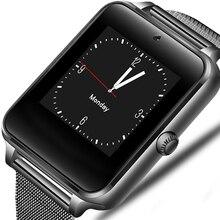Montre intelligente Android GT08 horloge avec fente pour carte Sim Message poussoir connectivité Bluetooth téléphone Android PK DZ09 Smartwatch Z60 2019
