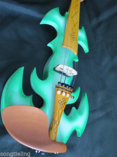 Best model fancy SONG Brand Crazy-1 art streamline 5 strings 4/4 electric violin enlarge