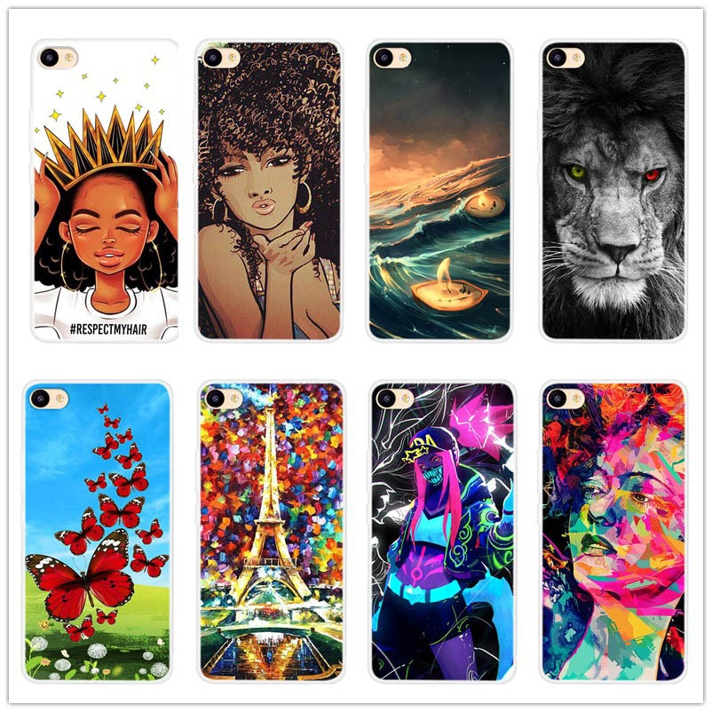 Patterns Phone case Soft Silicone back Cover For MEIZU U10 U 10 Coque Protective Phone Case For MEIZ