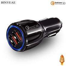 Автомобильное зарядное устройство QC 3,0 с двумя usb-портами для быстрой зарядки LG G5/G6/V20/V30/V10, автомобильное зарядное устройство USB с 2 портами QC3.0 Rapid