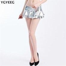 YGYEEG été Style Sexy Mini jupe pour fille dame courte mode femme Mini jupe femmes vêtements bas plissé jupes féminines