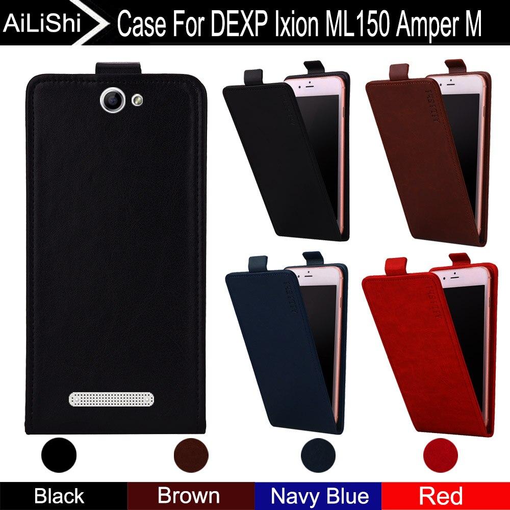 AiLiShi para DEXP Ixion ML150 Amper M funda Vertical para teléfono con Tapa de cuero accesorios para teléfono + seguimiento ¡!