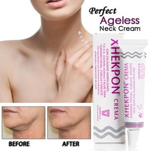 Xhekpon Cream Face and Neck Wrinkle Removing Cream Neck Line Erasing Cream Wrinkle Smooth Skin Anti aging Whitening Cream 40ml