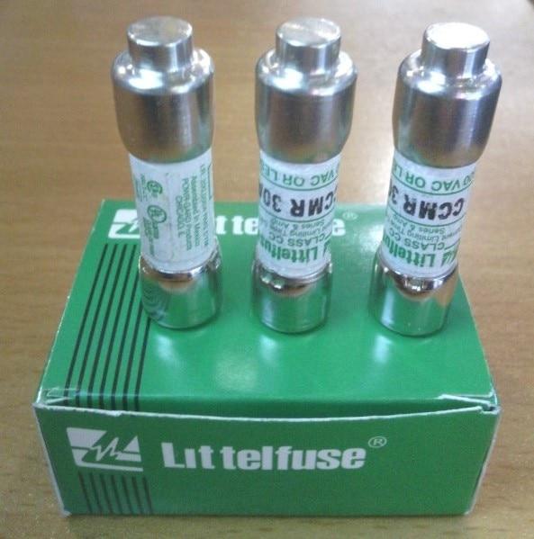 5 piezas CCMR 20A Littelfuse América Netlon 10*38 fusible de retardo/fusible 20A600V