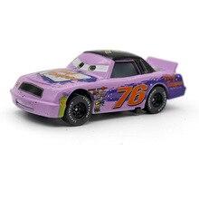 Disney Pixar Cars 2 3 No.76 Vinyl Toupee Metal Diecast alloy Toy Car model for children gift 1:55 Brand toys New In Stock