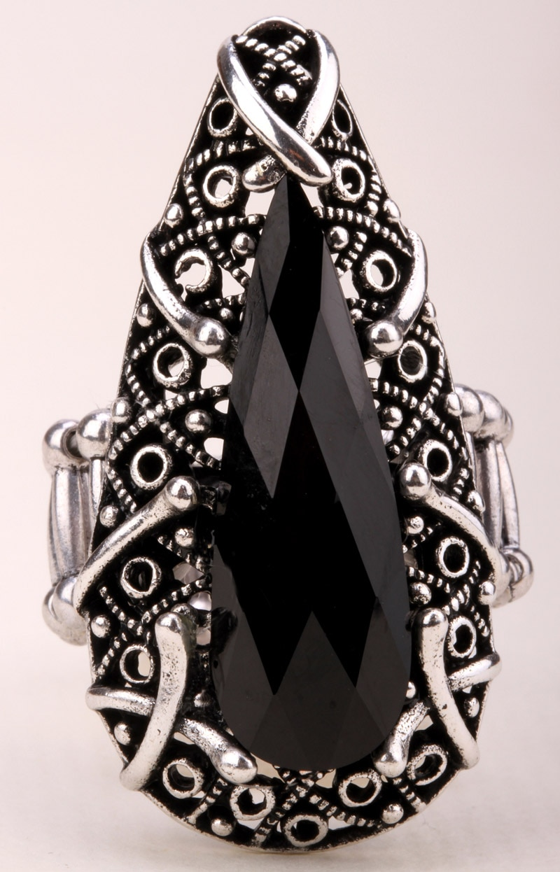 Anéis de estiramento antigo prata ouro cor jóias presentes para meninas femininas atacado dropshipping rd15