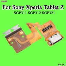 Cltgxdd chargeur de charge USB   Pour Sony Xperia tablette Z SGP311 SGP312 SGP321, panneau USB, Port Dock, connecteur, câble flexible