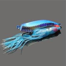 5 uds Metal 60g Inchiku Jig Micro Octo señuelo de pesca con anzuelo Jigging pargo lento pesca artificial cebo Crankbait Swimbait luminosa