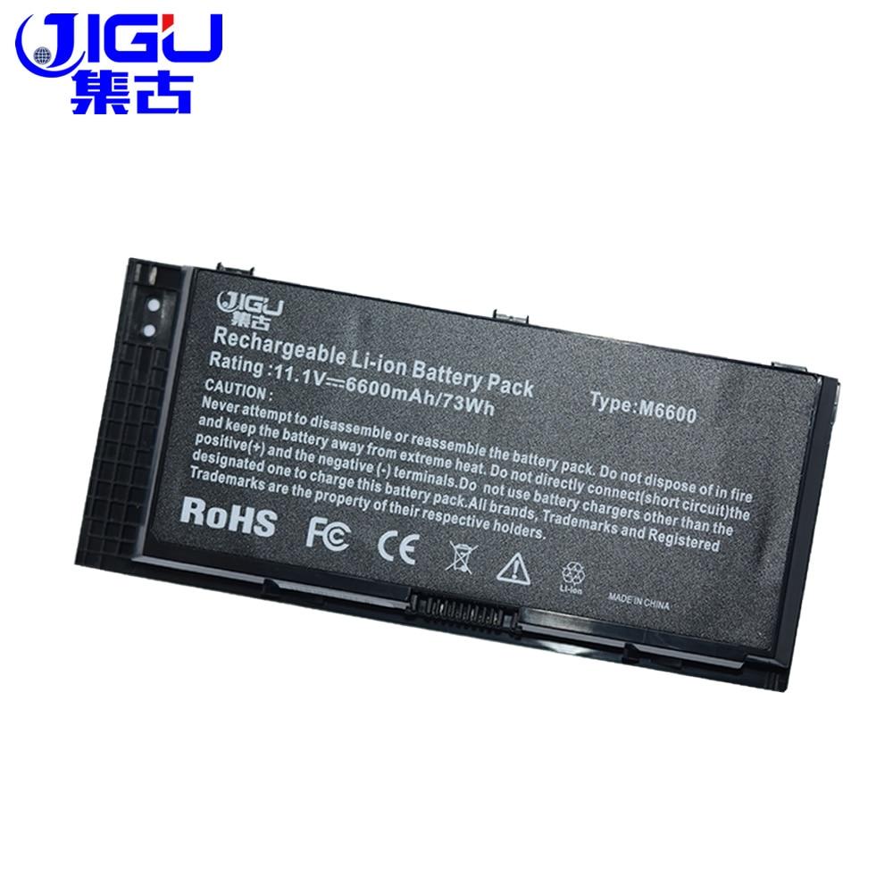 Аккумулятор для ноутбука JIGU, 0FVWT4 0TN1K5 3DJH7 451-11742 X57F1 R7PND PG6RC FV993 9GP08 97KRM для Dell, высокоточный M4600 M4700 M6600