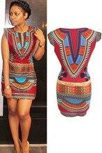 Nouvelle mode Sexy Style nigérian femmes robe dété Celeb aztèque Tribal Rocco imprimer fête moulante crayon Mini robe XL H22462