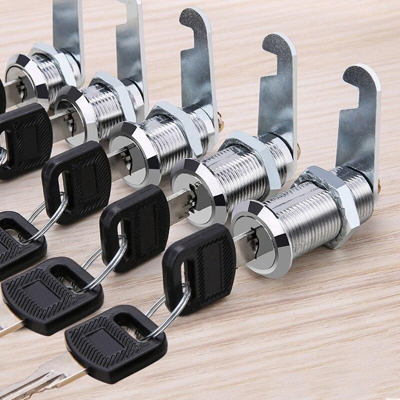 16mm 20mm 25mm 30mm Custom Metal File Cabinet Lock Core Report Box Drawer Locker Locker File Letter Lock Cylinder