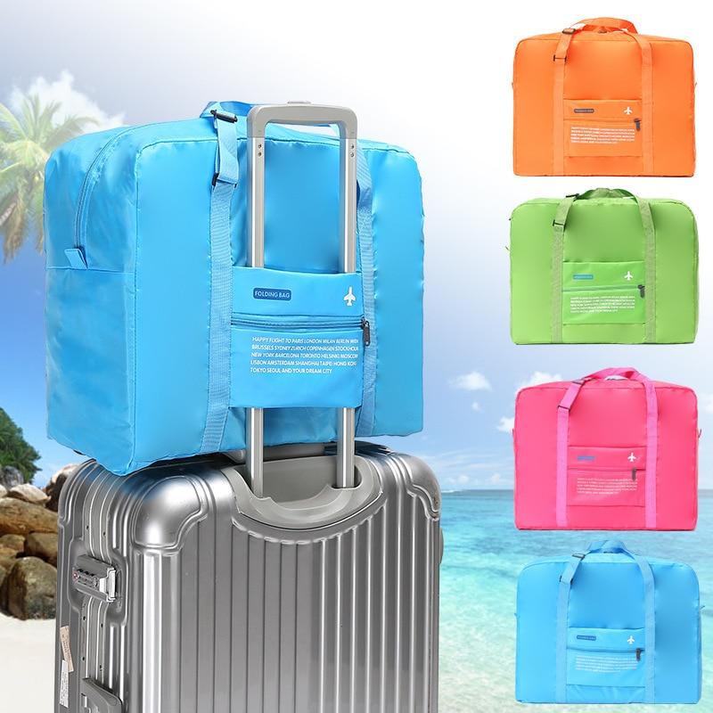 Travel bag set Luggage Weekend foldable travel Nylon duffle bag big set weekender For women and men sac de voyage reistas