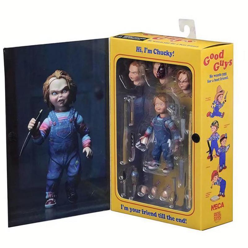 Muñeca NECA chlucky Action Figurs con caja de venta al por menor 15cm