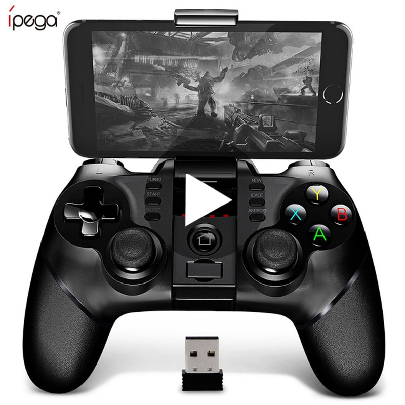 Ipega 9076 PG-9076 Bluetooth Gamepad Game Pad Controller Mobile Trigger Joystick For Android Cell Sm