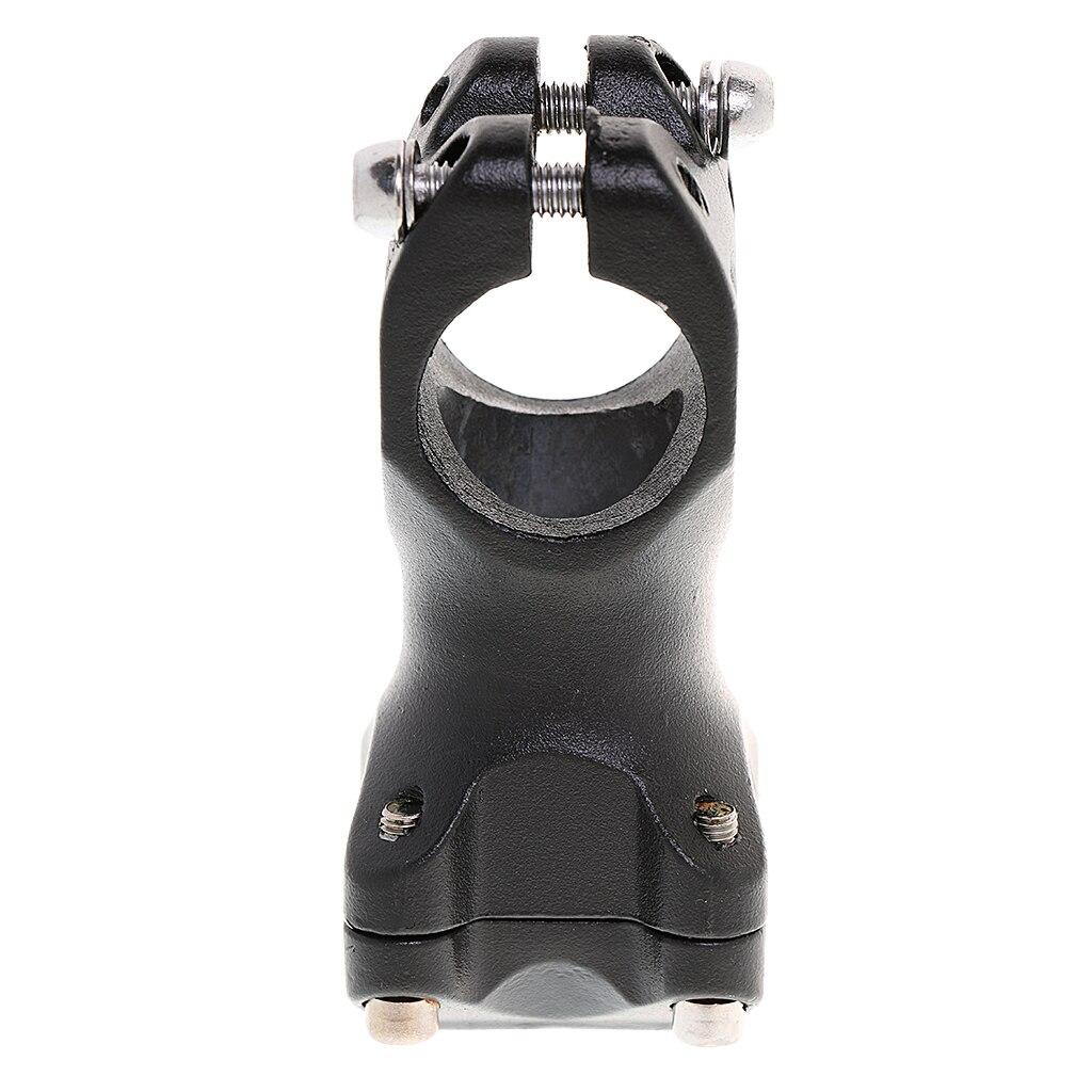 Ultraleve liga de alumínio mtb estrada bicicleta guiador haste 25.4mm 60mm hastes para mountain bike