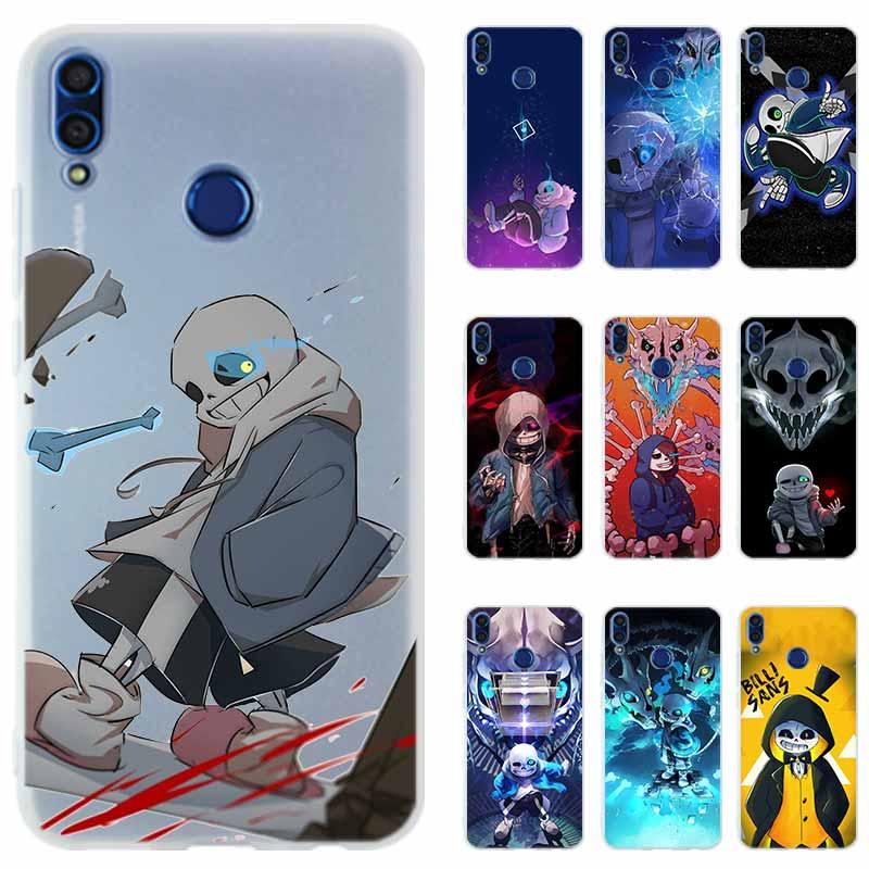 Undertale Sans Honor 20i 10i, funda de teléfono, funda de silicona para Huawei Honor 9X 10 9 lite 20 8a 8X Max 9a 7X 7A Pro 6X PLAY