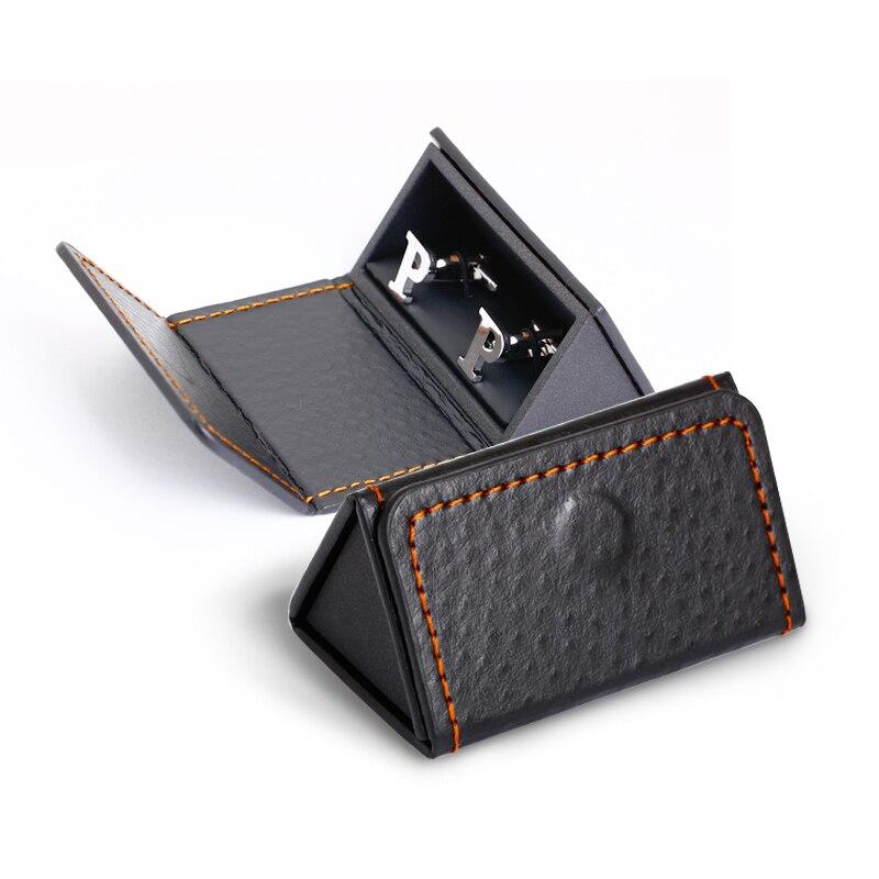 Hot Sale Black Triangle Cufflink box Gift Box Wholesale