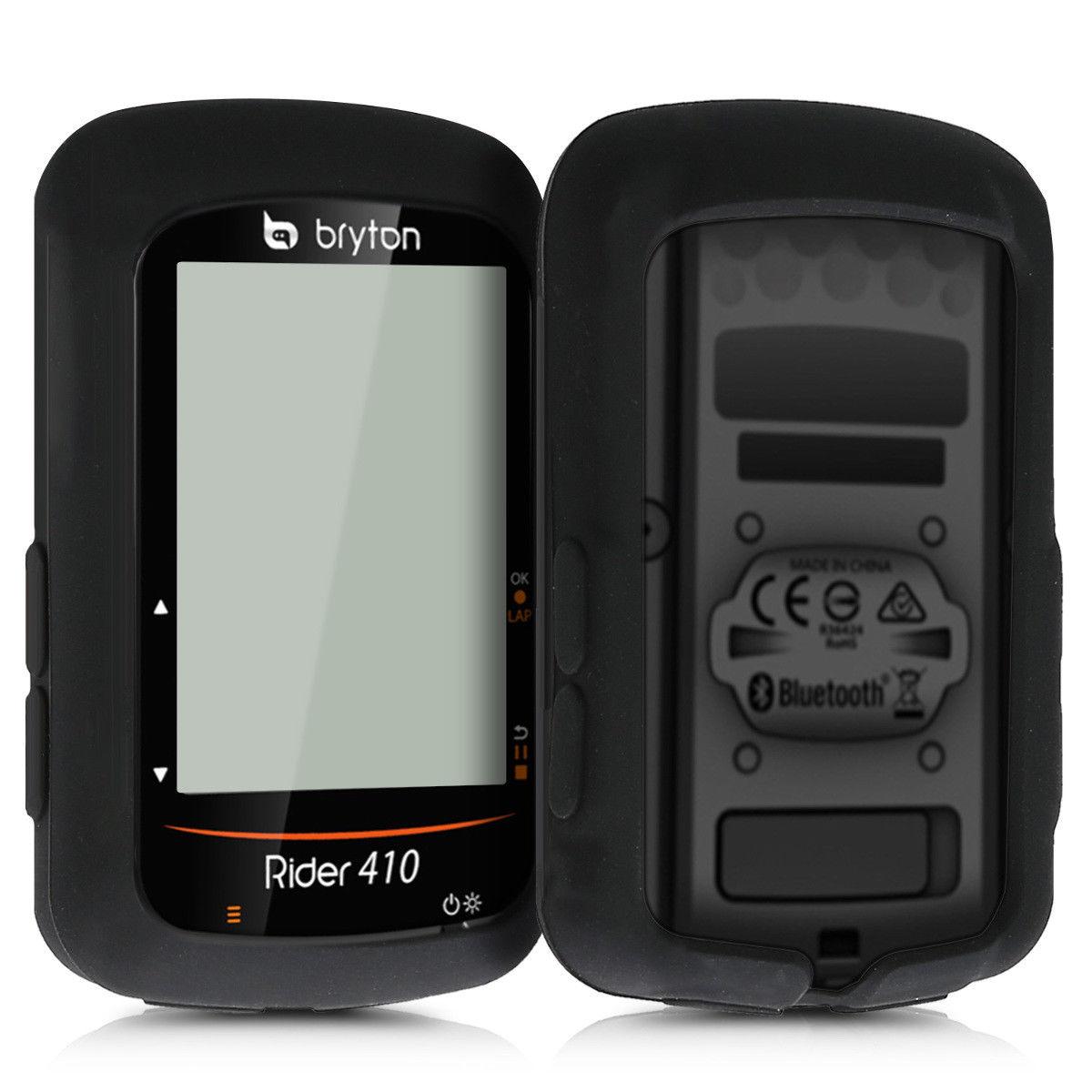 רך סיליקון אופני מחשב GPS מגן כיסוי להגן על מקרה עור עבור Bryton רוכב 410 450 אביזרים