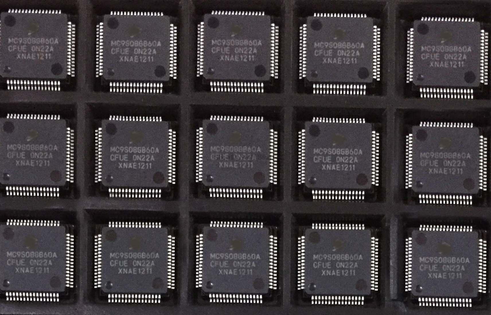 5 قطعة-10 قطعة/الوحدة MC9S08GB60ACFUE MC9S08GB60A TQFP-64 الأصلي أون الأسهم
