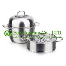 Ustensiles de cuisine en acier inoxydable   Ustensile de cuisine en acier inoxydable, livraison gratuite, prix usine, casserole à vapeur en acier inoxydable, cuisine