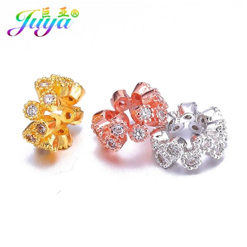 Cuentas rotundas de 8mm, oro/rosa dorada hueca, abalorio de Metal, espaciador floral, accesorios para mujer, abalorios, fabricación de joyas