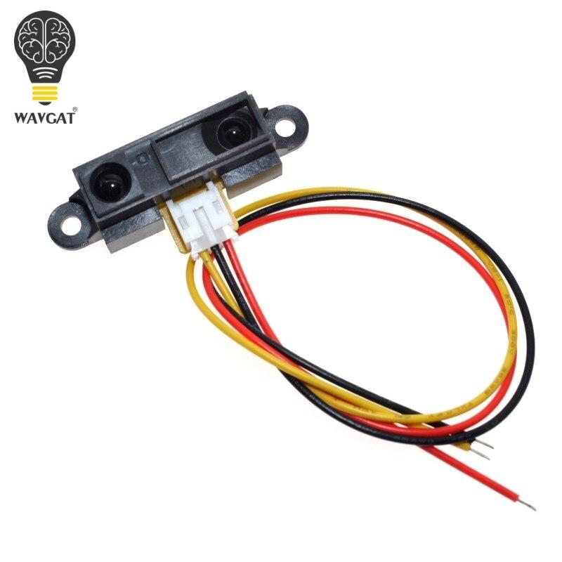 Инфракрасный датчик расстояния WAVGAT GP2Y0A21YK0F GP2Y0A21, аналоговый ИК-датчик расстояния VE713 10-80 см, инфракрасный датчик расстояния