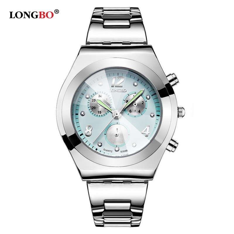 LONGBO, reloj de cuarzo para mujer, famosa marca Top, relojes de pulsera de lujo, reloj de cuarzo para mujer, reloj Masculino 8399