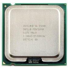 Intel Pentium çift çekirdekli E5800 CPU İşlemci (3.2 Ghz/2 M/800 GHz) soket 775 ücretsiz kargo